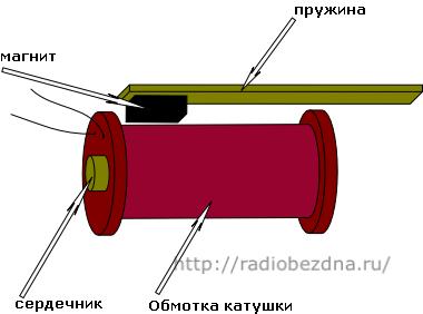 датчик вибрации