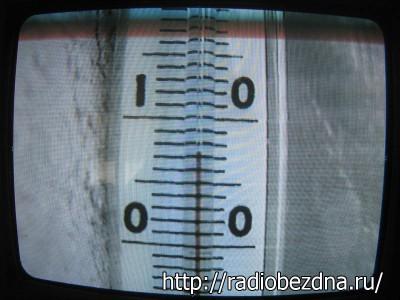 термометр днём