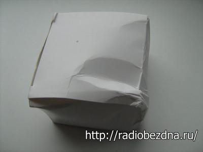 помятая упаковка