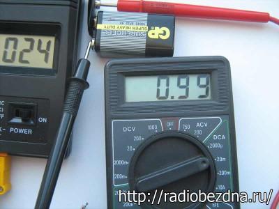 ток потребления термометра
