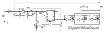 схема ШИМ 30 ампер