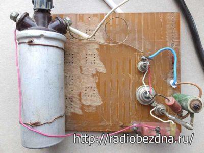 ионизатор воздуха своими руками